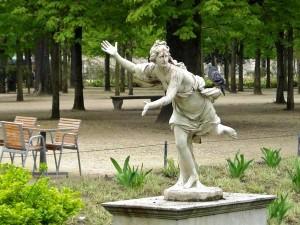 Atalante Jardins du Louvre